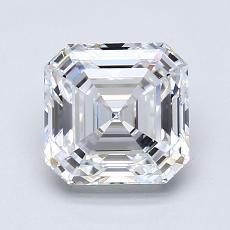 Recommended Stone #4: 1.69-Carat Asscher Cut Diamond