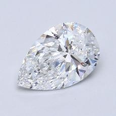 Recommended Stone #2: 2.08-Carat Pear Cut Diamond