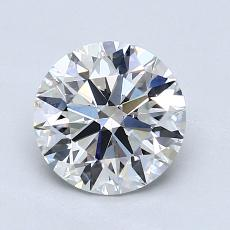 1.31-Carat Round Diamond Ideal G VS1