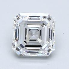 1,70-Carat Asscher Diamond Very Good D VVS2
