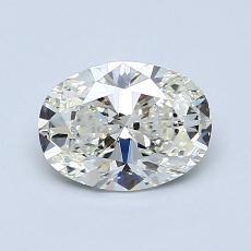 1.01-Carat Oval Diamond Very Good K SI1
