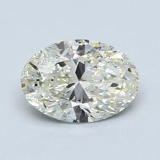 1.01-Carat Oval Diamond Very Good K SI2