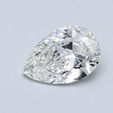 Recommended Stone #4: 0.80-Carat Pear Cut Diamond