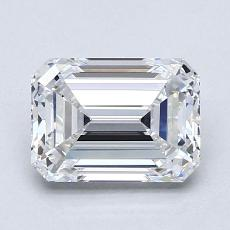推荐宝石 4:1.61 克拉祖母绿切割钻石
