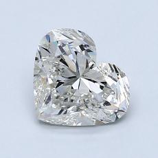 Pierre recommandée n°3: Diamant taille cœur 1,29carat