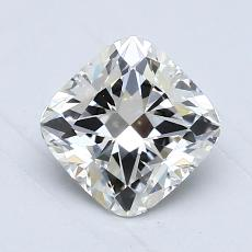 1.00-Carat Cushion Diamond Very Good I SI1