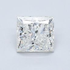 1.20 Carat プリンセス Diamond ベリーグッド H VS1