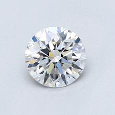 0.72-Carat Round Diamond Ideal D VS1