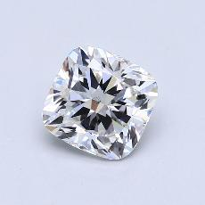 2.01-Carat Cushion Diamond Very Good F SI1
