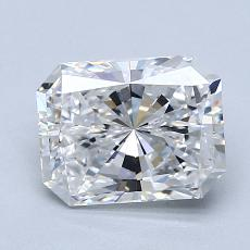 Pierre recommandée n°2: Diamant taille radiant 1,61 carats