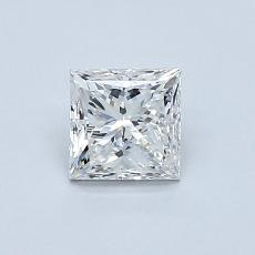 Recommended Stone #1: 0.70-Carat Princess Cut Diamond