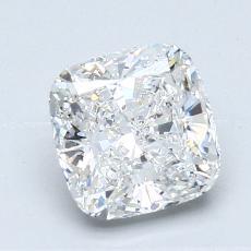 Pierre recommandée n°2: Diamant taille coussin 1,41 carats