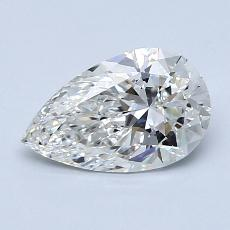 Recommended Stone #3: 1.11-Carat Pear Cut Diamond