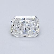 Recommended Stone #3: 0,55-Carat Radiant Cut Diamond
