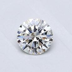 Pierre recommandée n°2: Diamant rond 0,30 carat