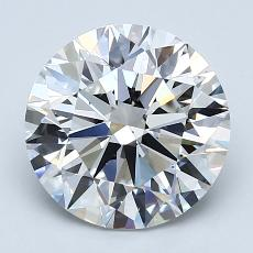 Recommended Stone #2: 2.73-Carat Round Cut Diamond