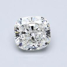 1.01-Carat Cushion Diamond Very Good G VVS2