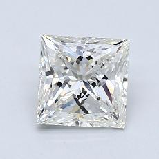 Recommended Stone #1: 1,26-Carat Princess Cut Diamond