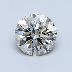 1.01-Carat Round Diamond Ideal K SI2