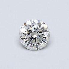 0.40 Carat 圆形 Diamond 理想 I VS1