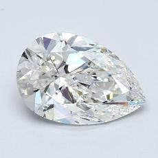 Recommended Stone #2: 1.70-Carat Pear Cut Diamond