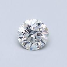 0.50 Carat 圆形 Diamond 非常好 H SI2