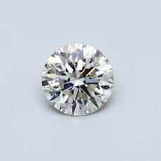0.41-Carat Round Diamond Ideal K SI2
