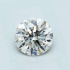 0.72-Carat Round Diamond Ideal J VS1
