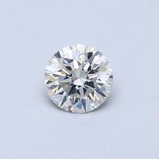 0.40 Carat 圆形 Diamond 理想 H SI1