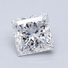 Recommended Stone #1: 1,20-Carat Princess Cut Diamond