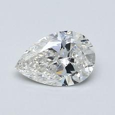 0.70-Carat Pear Diamond Very Good G SI1