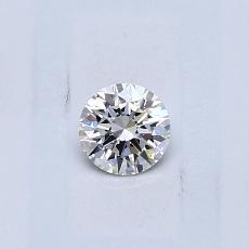 0.23-Carat Round Diamond Ideal E VVS1