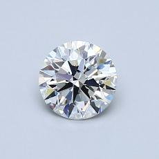 Recommended Stone #3: 0.61-Carat Round Cut Diamond