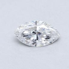 Recommended Stone #3: 0.41-Carat Marquise Cut Diamond