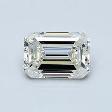 推薦鑽石 #3: 0.80  克拉綠寶石形切割鑽石
