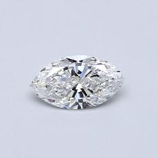 0,30-Carat Marquise Diamond Very Good E VS1