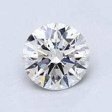 1.07-Carat Round Diamond Ideal F VS2