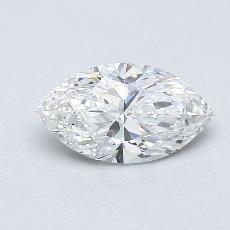 0,70 Carat Marquise Diamond Très bonne E VVS1