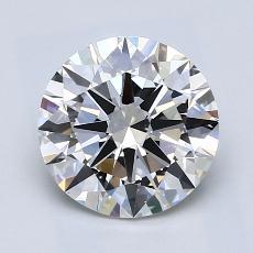 2.00-Carat Round Diamond Ideal G VS1