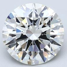 Recommended Stone #2: 4.10-Carat Round Cut Diamond