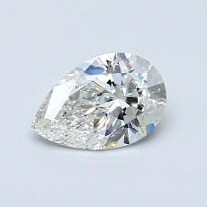 Recommended Stone #3: 0.60-Carat Pear Cut Diamond