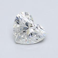 Recommended Stone #2: 0.83-Carat Heart Cut Diamond