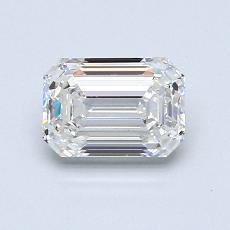 Recommended Stone #4: 0.92-Carat Emerald Cut Diamond