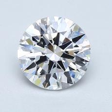 1.50 Carat 圓形 Diamond 理想 E VS1