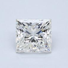 1.07 Carat 公主方形 Diamond 非常好 G VS1