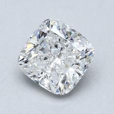 1.21-Carat Cushion Diamond Very Good D VS1