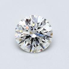 0.73 Carat 圓形 Diamond 理想 H VS2