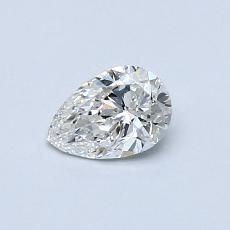 0.40-Carat Pear Diamond Very Good F VS2