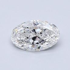 0.75-Carat Oval Diamond Very Good D VS2