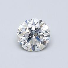 推荐宝石 3:0.59克拉圆形切割钻石